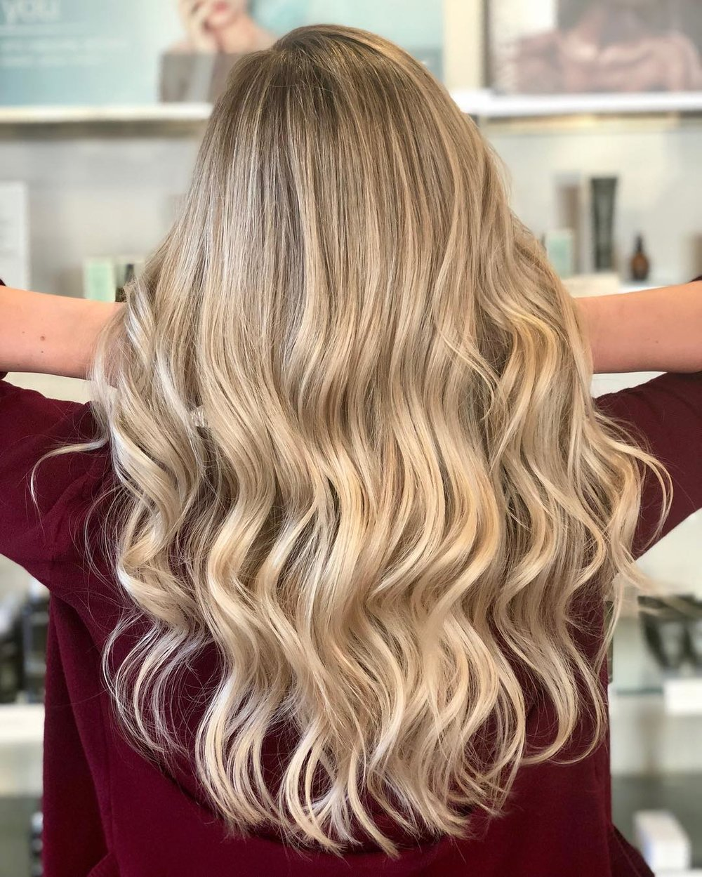 blonde highlights dallas Texas