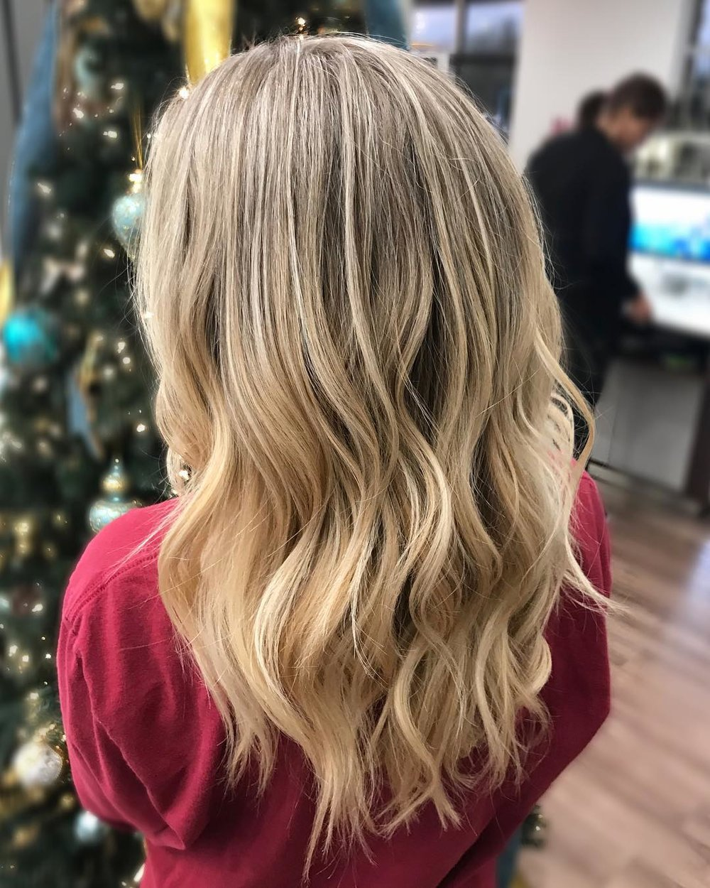 blonde balayage dallas texas