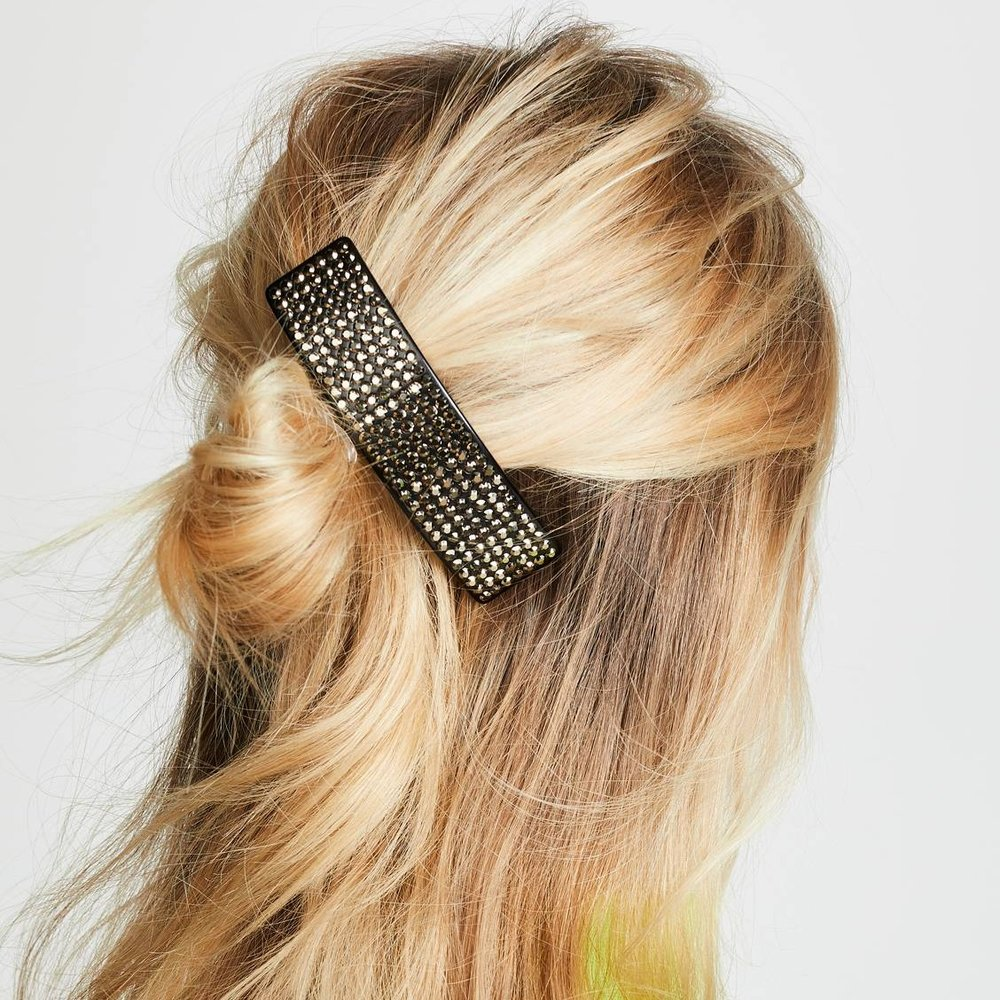 Resin Strass Barrette - Marc Jacobs   $115