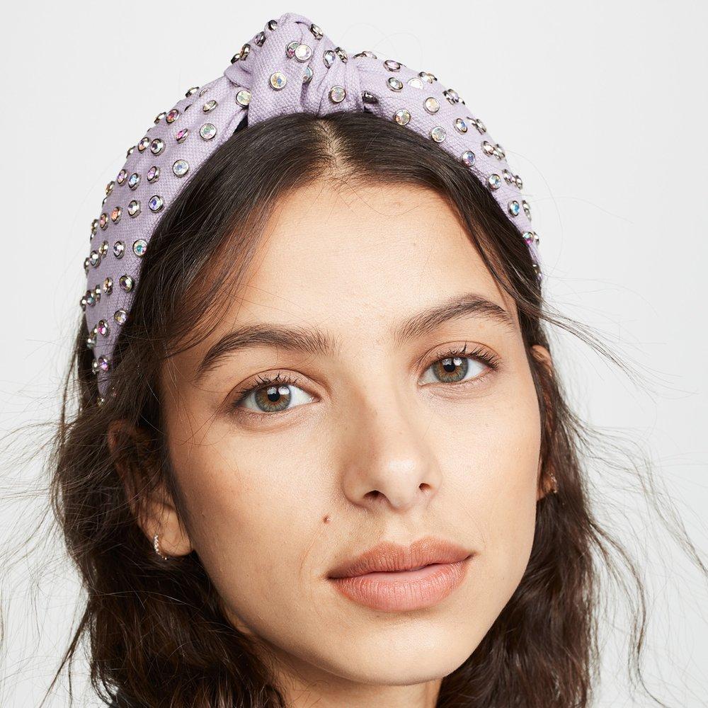Crystal Headband - Lele Sadoughi   $170