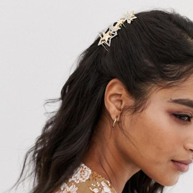 hair comb in star design - ASOS   $13