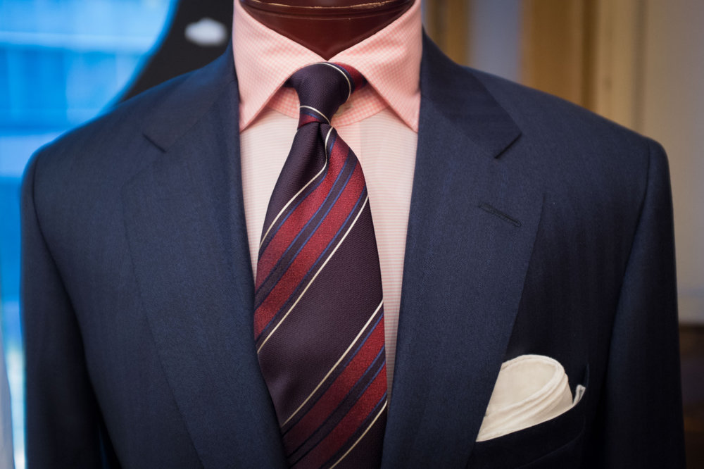 Navy Suit with Pink Shirt.jpg