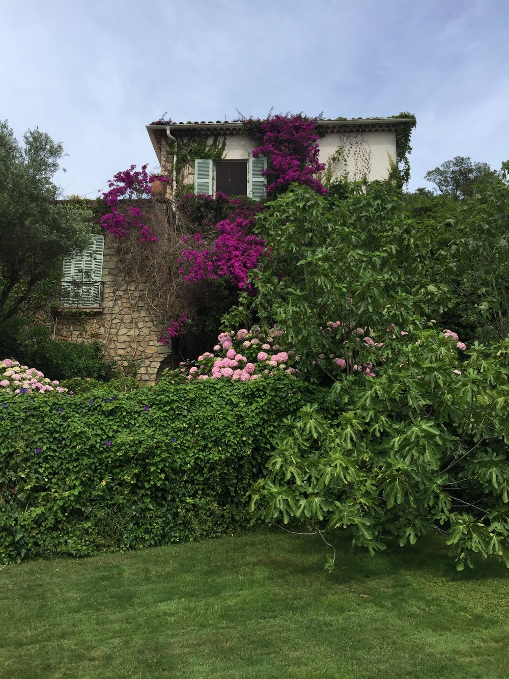 Michel's extraordinary home overlooking St. Tropez
