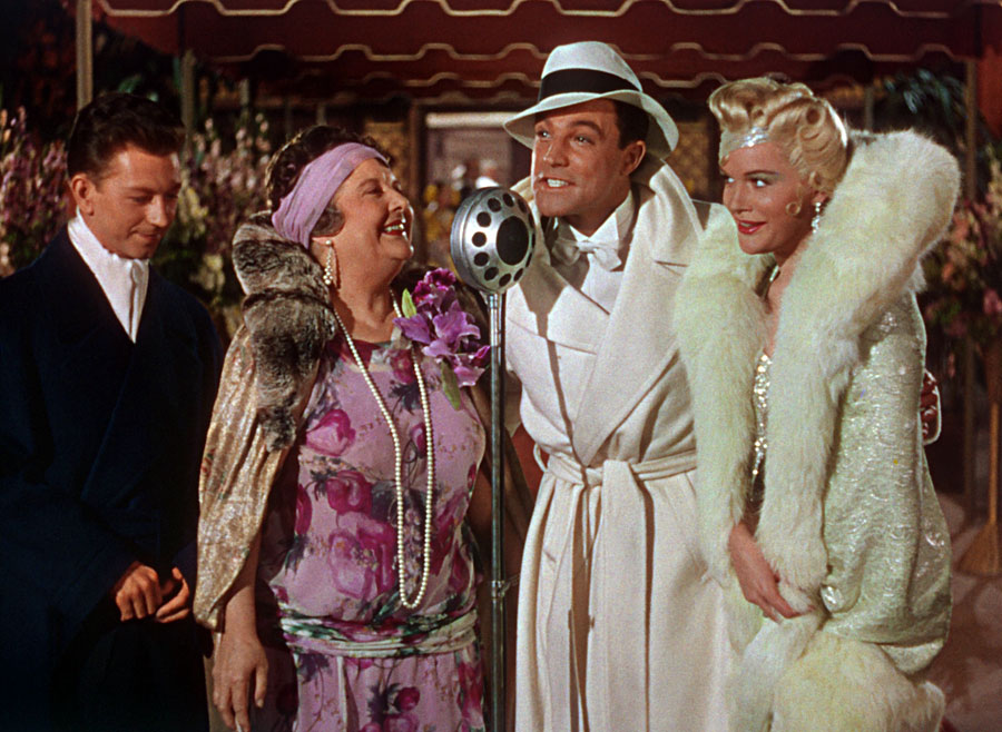 Don Lockwood (Gene Kelly) and friends on the red carpet in  Singin' in the Rain .