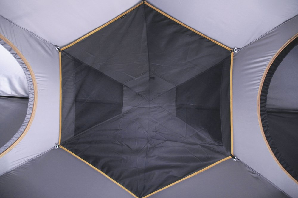 All SpeeDome tents feature an overhead gear storage loft.
