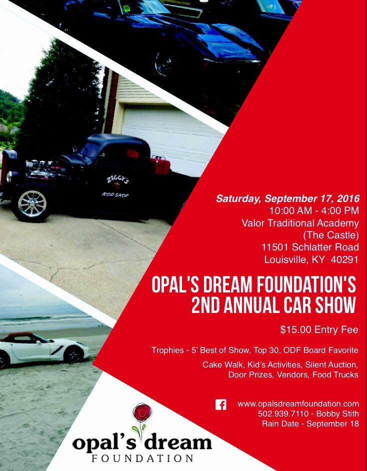 Join Us For Opals Car Show Trophies Prizes Will Be Awarded - Car show louisville ky