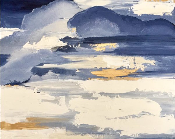 Gold On The Horizon By Kristen Coates 24x30 $450.png
