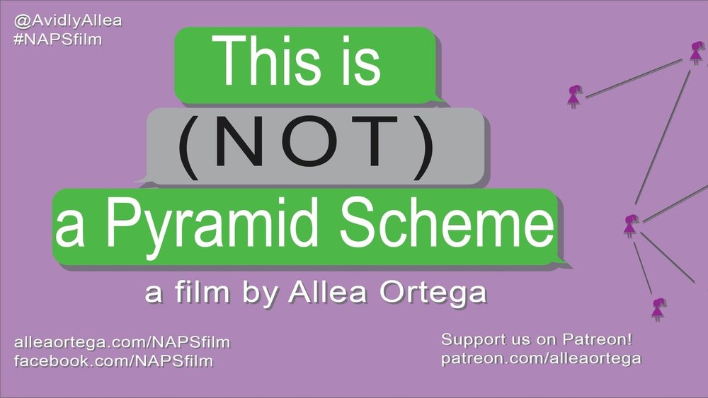 This is (NOT) a Pyramid Scheme - This documentary explores multilevel marketing in America through the eyes of the women who participate in it. Both critical and optimistic, this film seeks to provide a balanced representation of the topic while exploring the underlying truths that unite these women.SUPPORT ON PATREON patreon.com/alleaortega