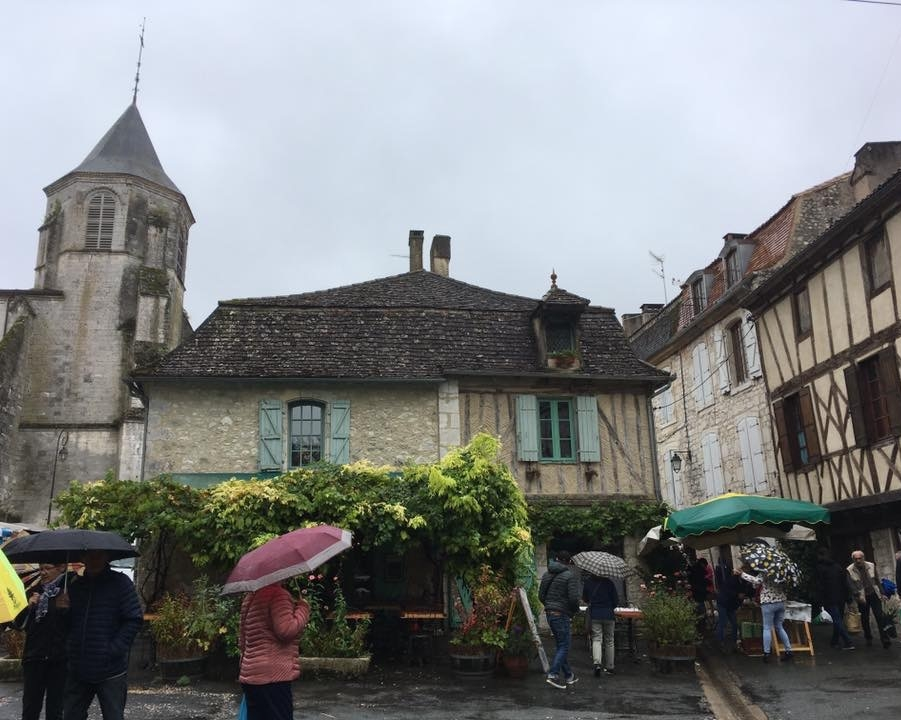 The quaint village market