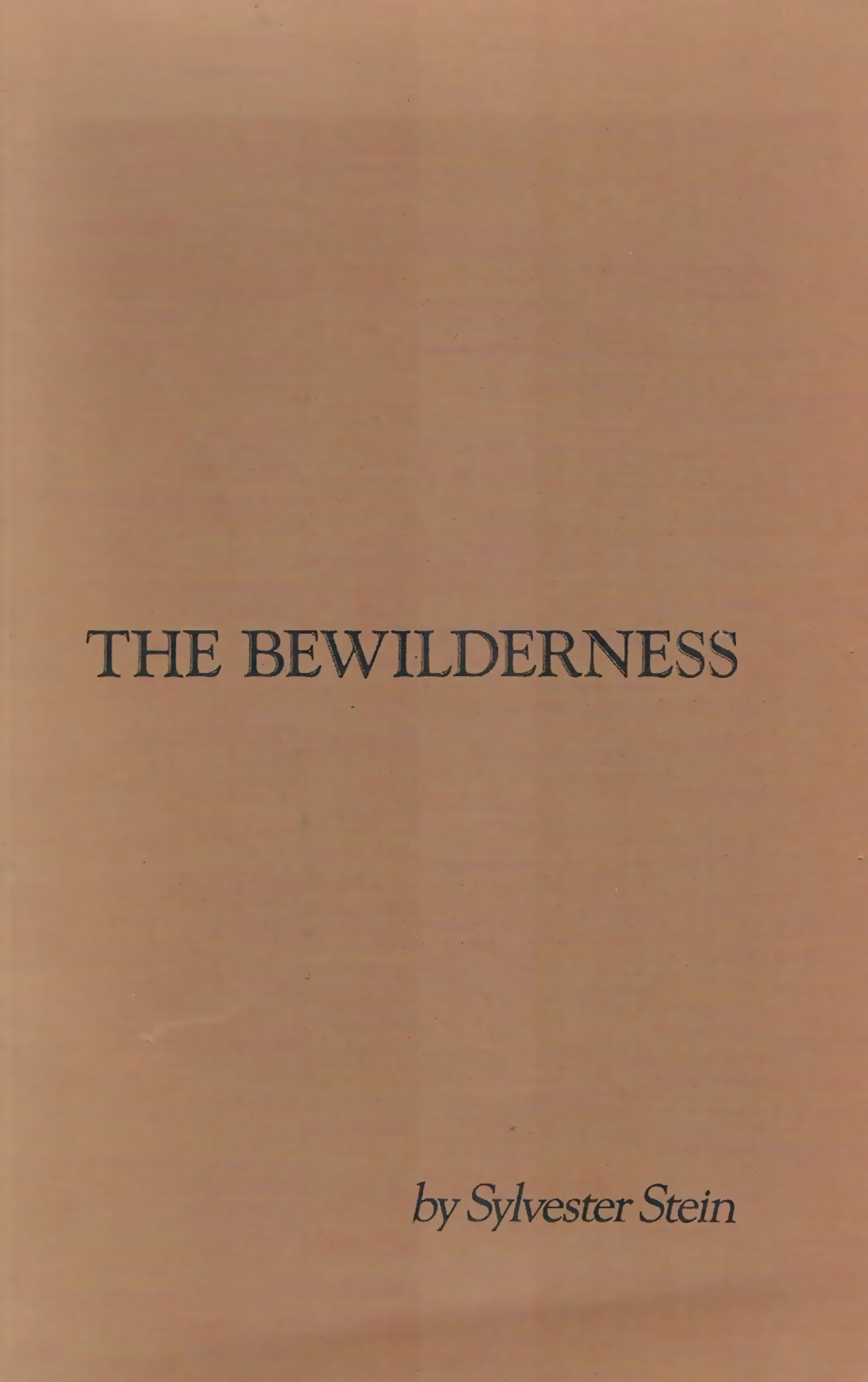 The Bewilderness - A collection of vignettes regarding some nonsense about Mr Maxi Moss.