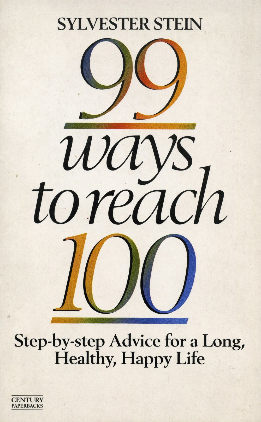 99 Ways to Reach 100 - Sylvester Stein loved life and wanted everyone else to do likewise and live long fulfilled lives. Here he gives tips on how to increase the chances of a long and healthy happy life. Not currently available.