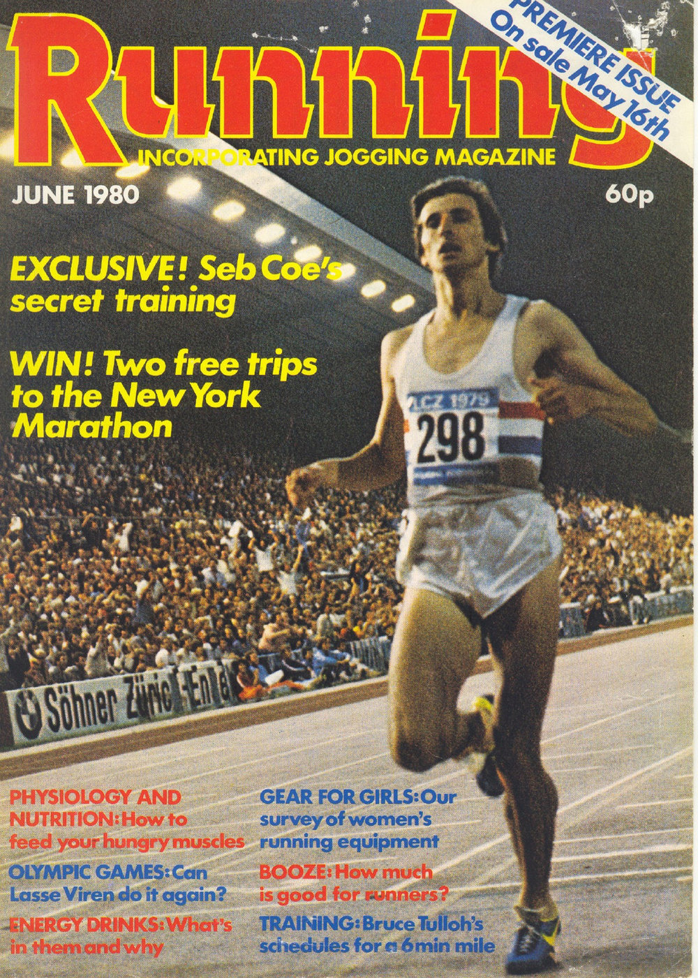 - First issue of Running.