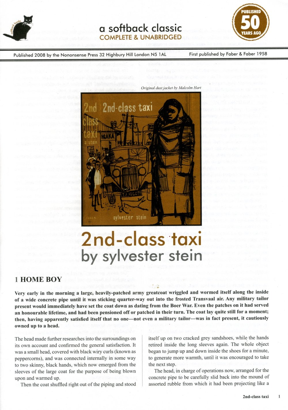 2nd-Class Taxi -