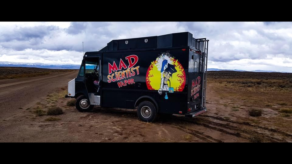 The Mad Scientist enlisted his assistant, Igor the Truck to help spread our crazy good e-liquid across the USA!