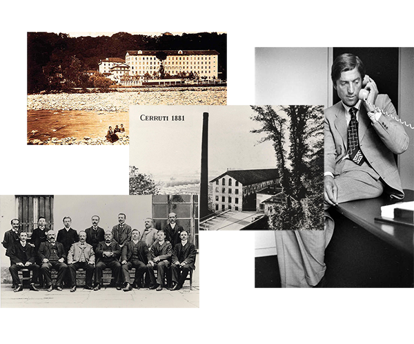 Cerruti history from the initial brief pack.