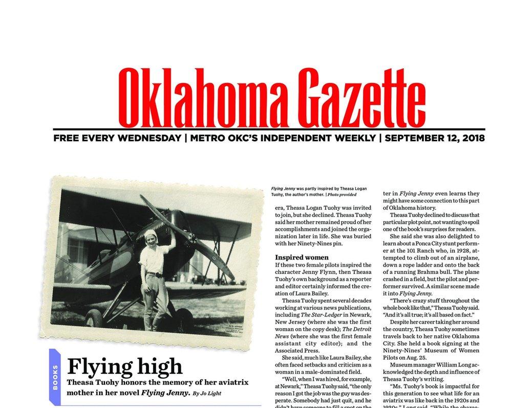 Full Article- https://www.okgazette.com/oklahoma/flying-high/Content?oid=4388968