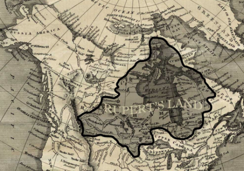[Map of Rupert's Land from 1818]