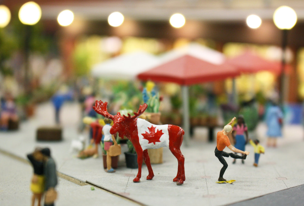 ByWard Market was the next stop for Maurice. This was the perfect place for him to get in some shopping and explore Canada's Capital before the big day. - June 29, 2018