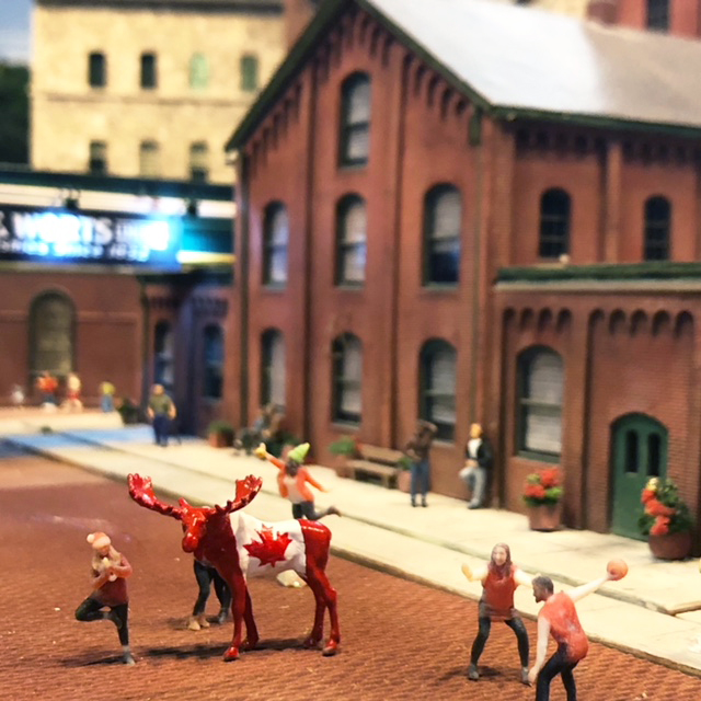 Maurice first found himself in the Distillery District of Toronto, one of Toronto's top tourist destinations during the holiday season. - June 25, 2018