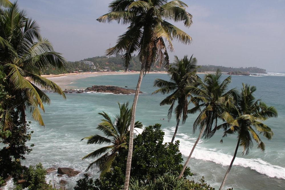 Mirissa Bay, 20 minutes from Tea Tree