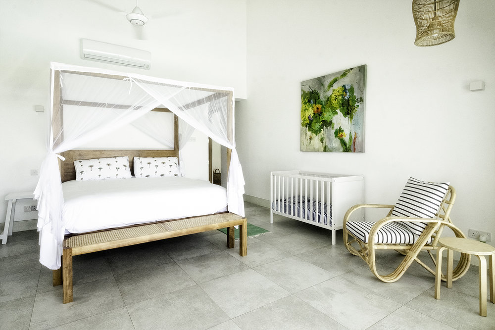 Two baby cots and single fold-aways are available