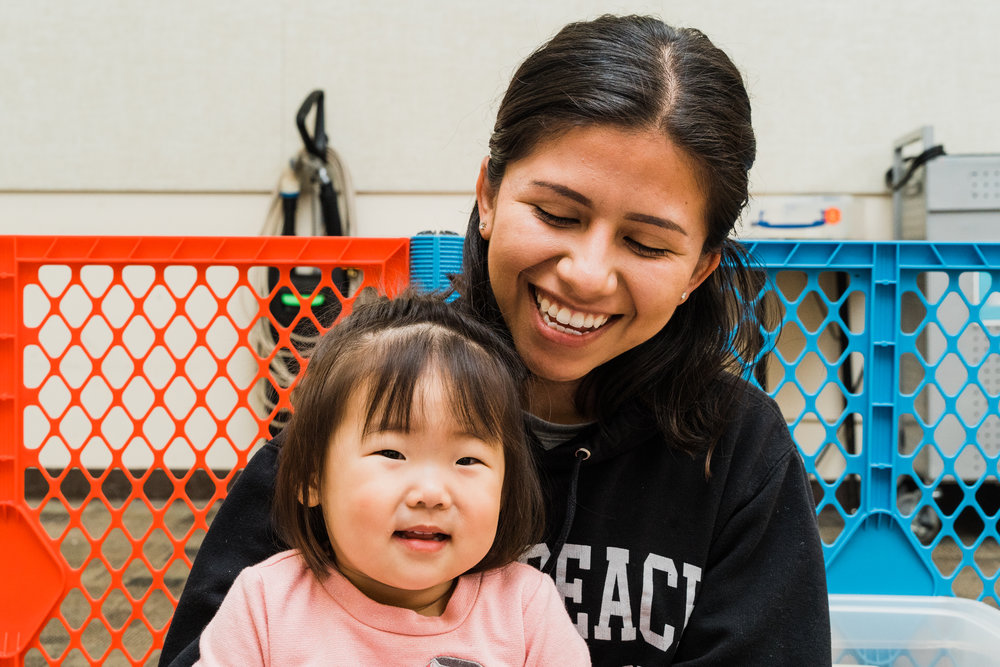 In the nursery, our caring volunteers serve our little ones through playtime, prayer, and worship. Snacks and water are provided, but if your children has additional needs, we ask that every family supply their own items (ex: diapers, food, favorite toys, etc).