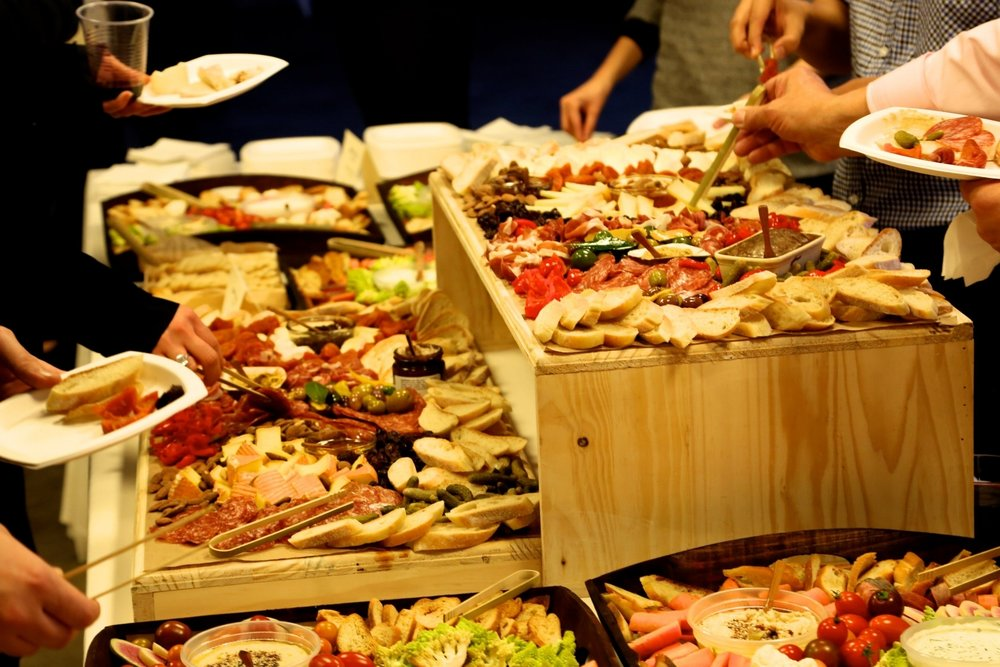 EVENT CATERING We offer full-service catering: Cocktail Parties, Grilled Cheese Stations, Corporate Events, Wedding Rehearsal Dinners, and Off-site Picnics. Let us handle all the details!