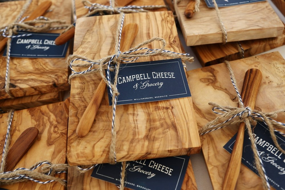 GiftS We love to help with custom gifts, from house-warming presents and birthday baskets to wedding favors and corporate thank-yous.