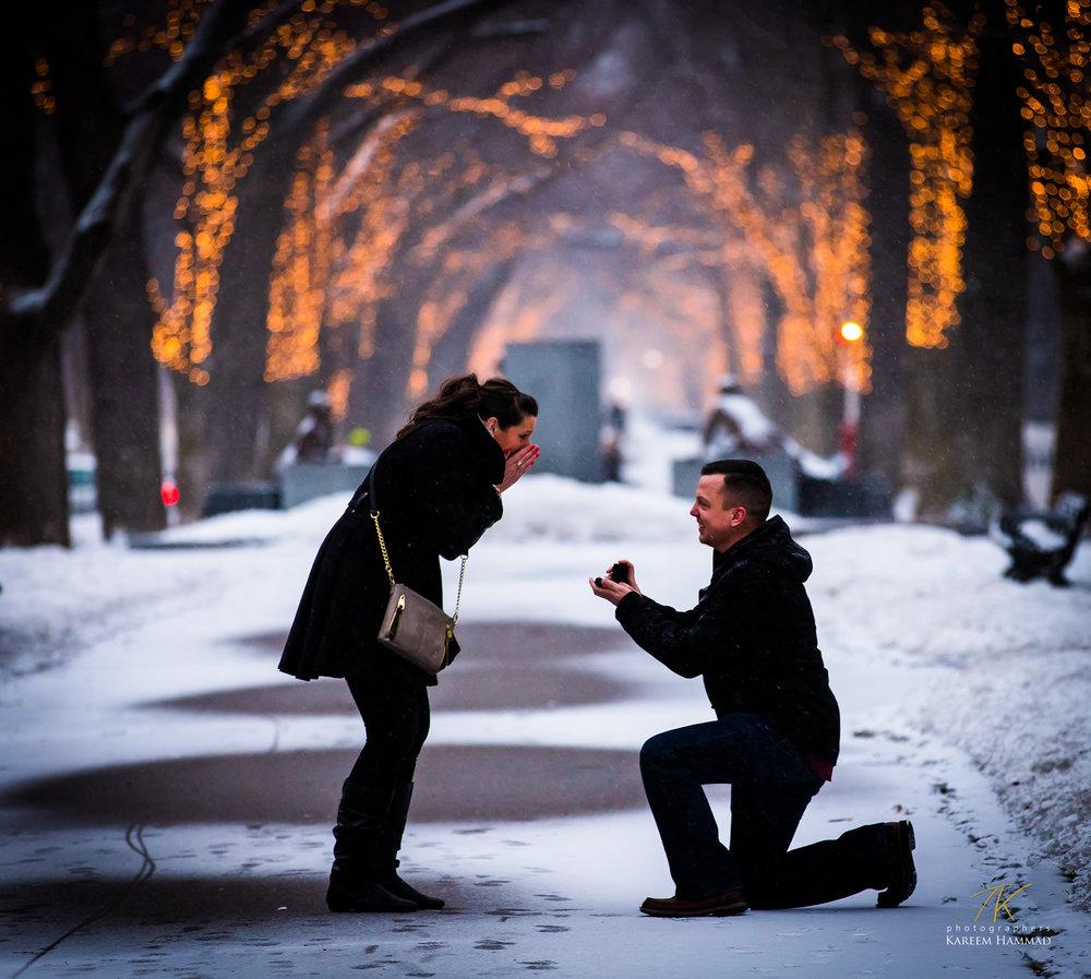 Rhiannon & Greg's proposal -