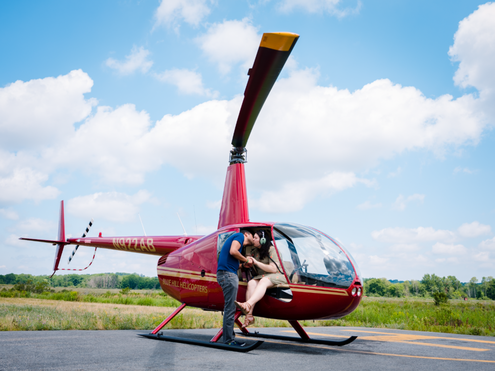 Juan & Kristy   - Helicopter Proposal