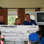 - Precision has raised over $50,000 to benefit the American Cancer Society.