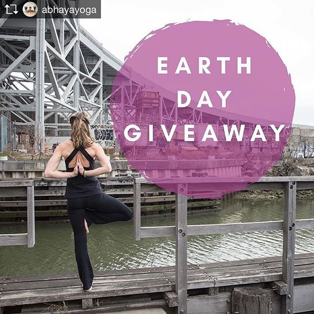 Repost from @abhayayoga 💕 We're celebrating #EarthDay all week long with a special giveaway! 🌎Post a photo of your favorite tree pose variation + tag #AbhayaYoga for a chance to WIN a free 5 class card for you or a friend. 🌲🌳🌴 Enter by Sunday, April 22nd. #FearLessLoveMore #AbhayaYoga Tagging some yoga friends!!!!! . . .