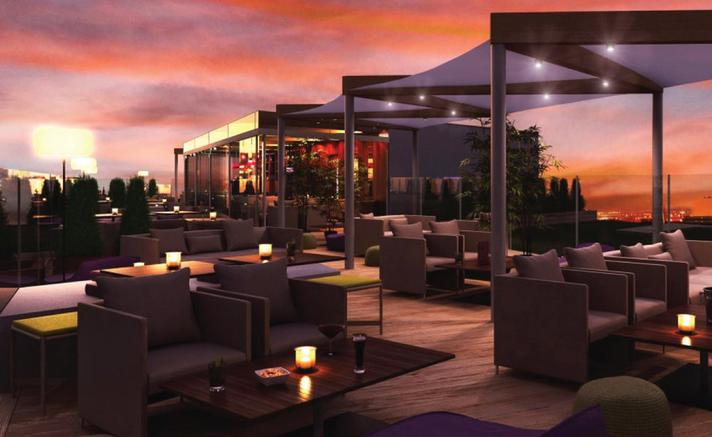 Rendering of Center City Terrace and Lounge