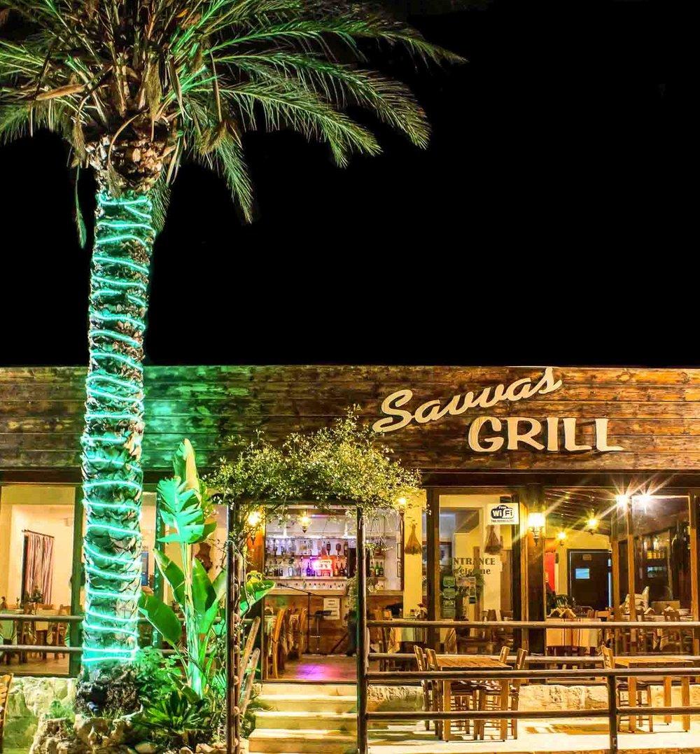 Savvas Grill Restaurant in Peyia