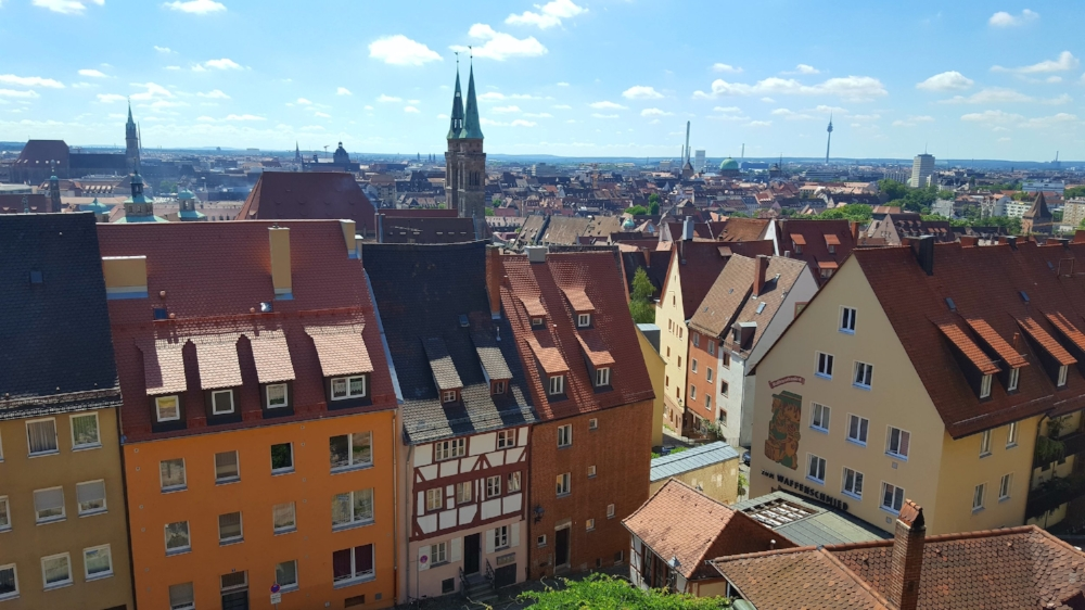 Nuremberg, as seen from the castle