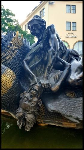 Nuremberg fountain