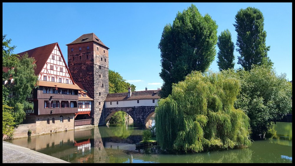 Nuremberg maxbrücke bridge