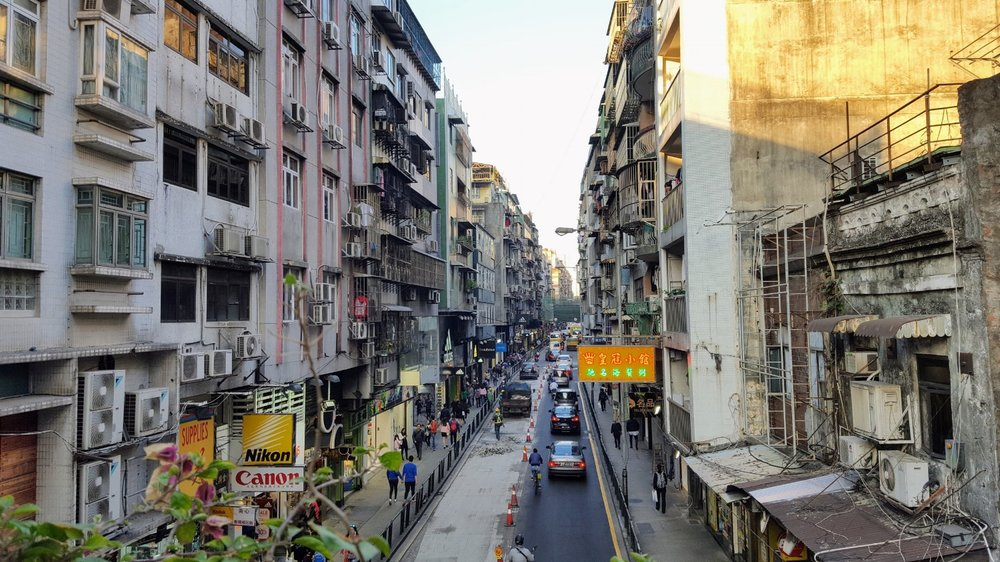 Macau street scene