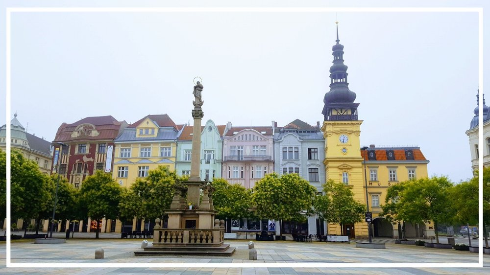 Ostrava main square