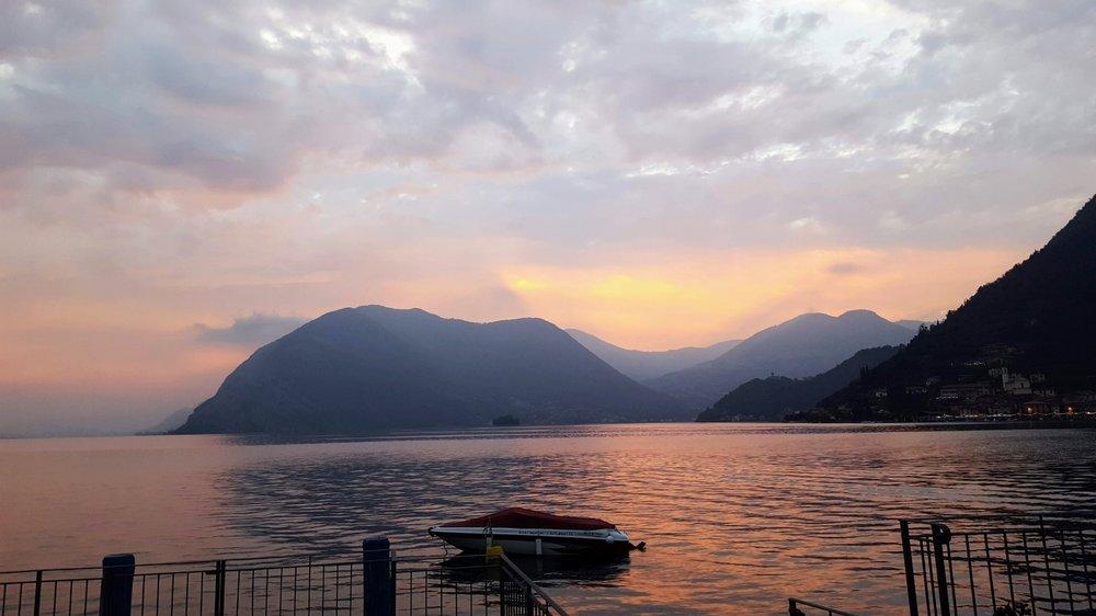 Sulzano, Lake Iseo, Italy
