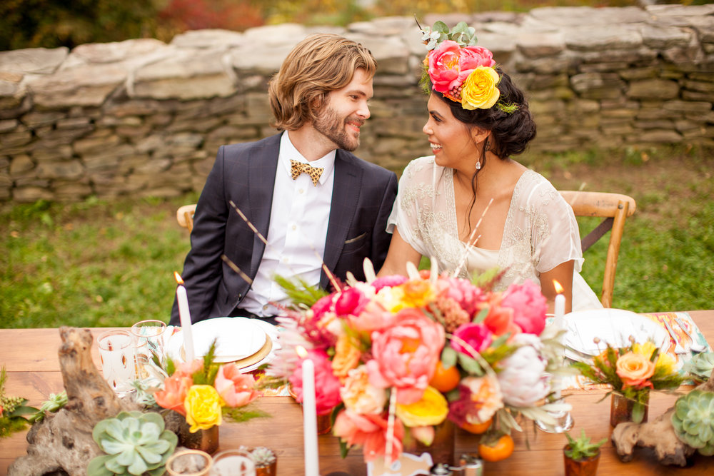 Southwestern inspired wedding