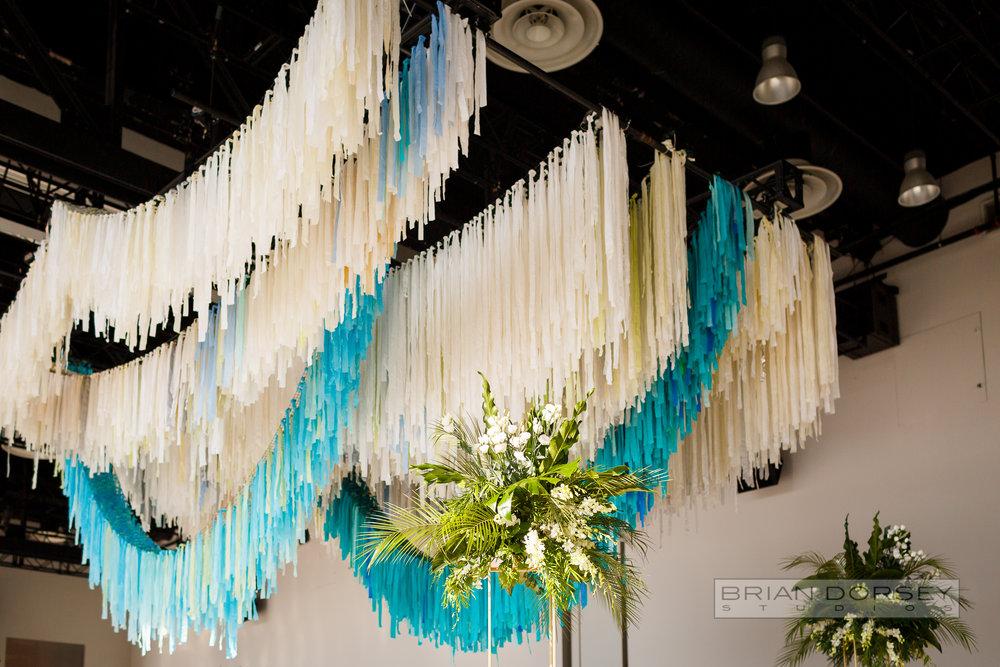 Spring Studio ceiling installation
