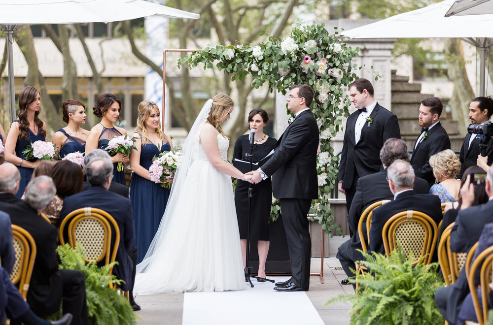 Bryant Park Grill ceremony