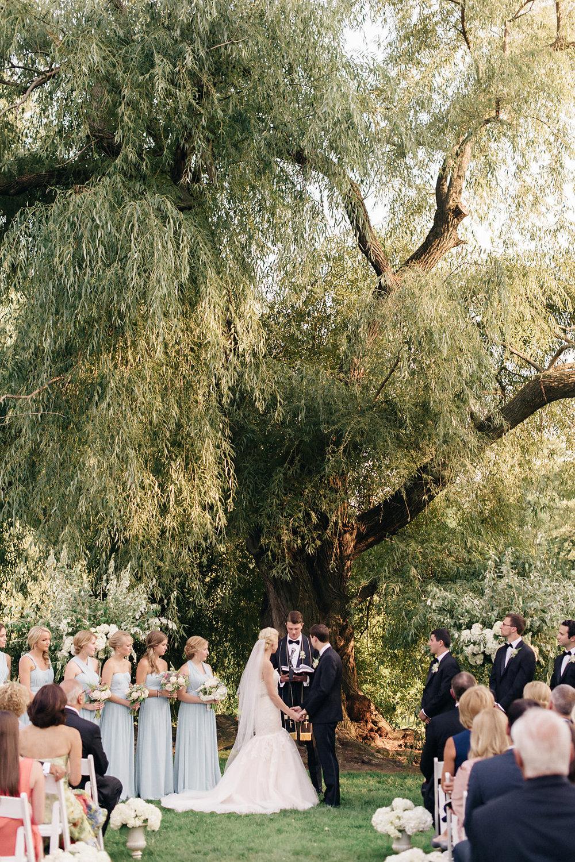 Brooklyn Botanical Garden ceremony