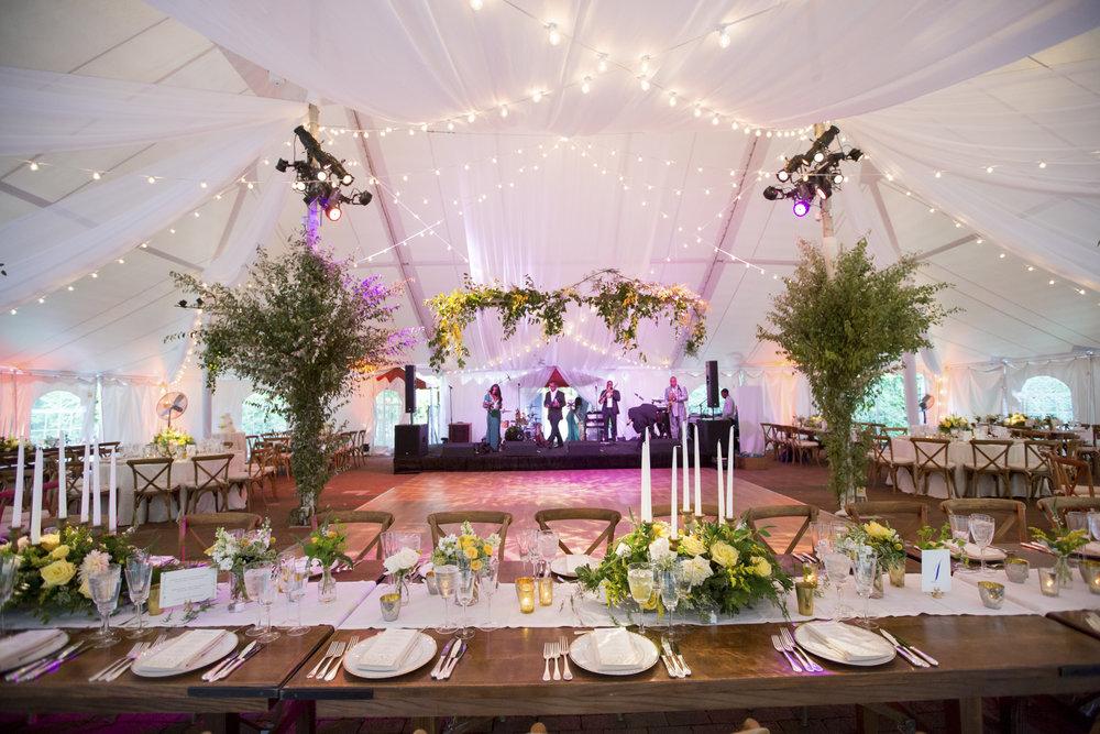 Caramoor reception tent