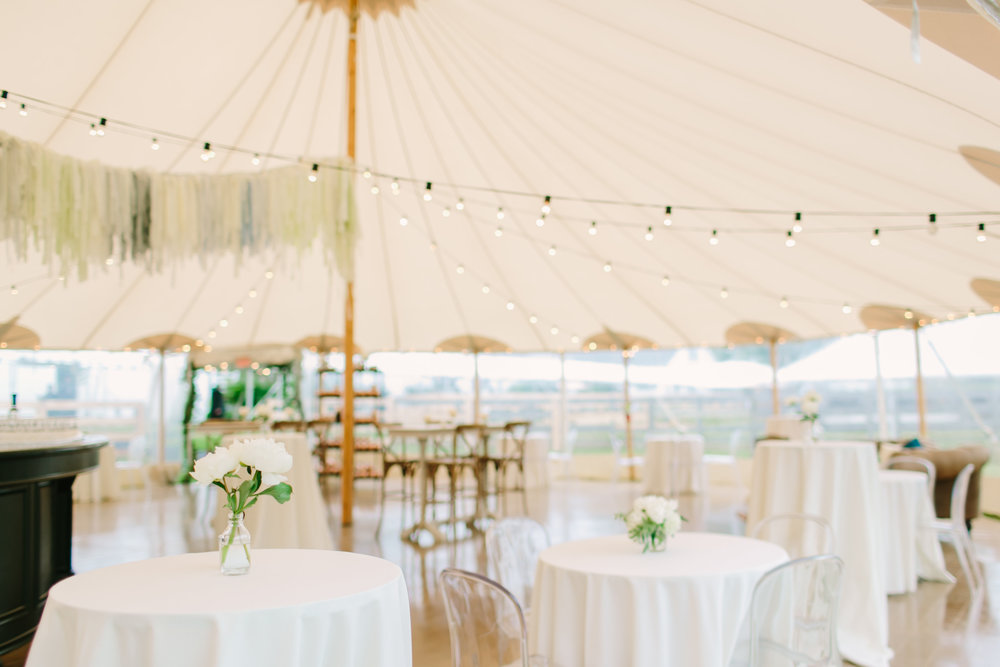 Sperry cocktail tent