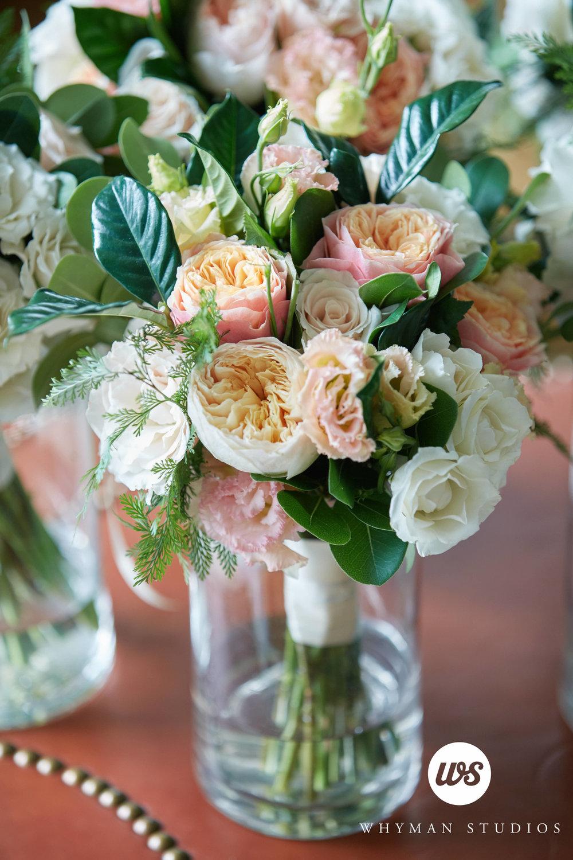 Bridesmaids bouquet of Juliet roses