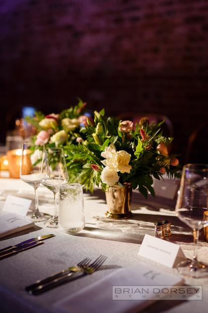 Long table multiple centerpieces
