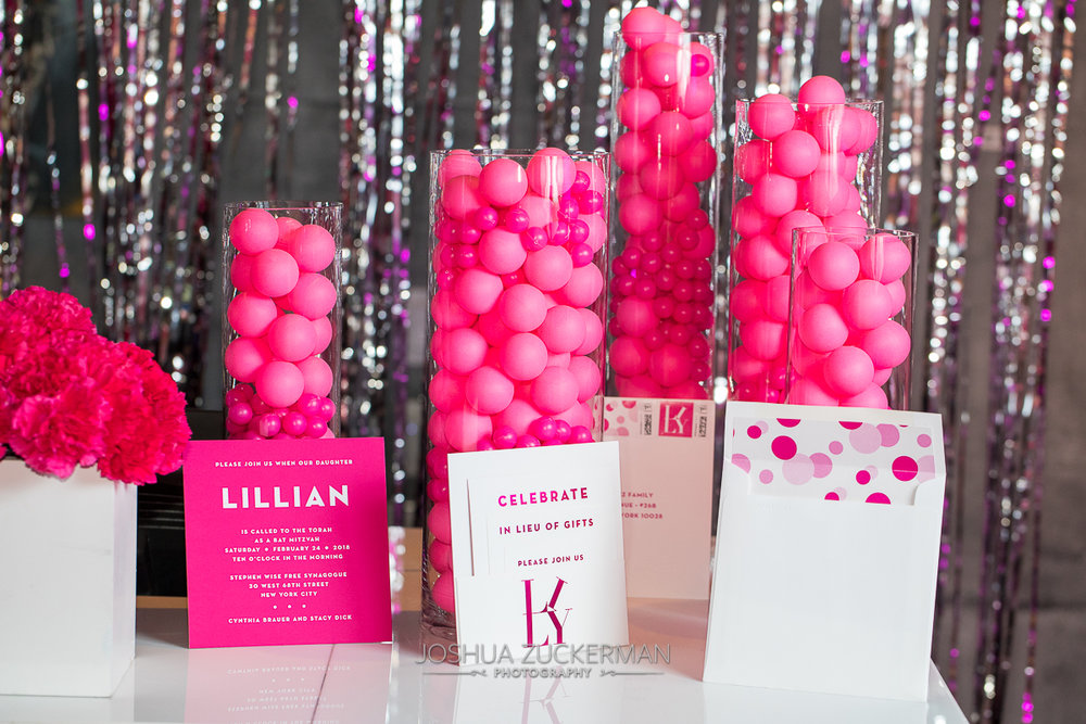 Hot Pink Invitations