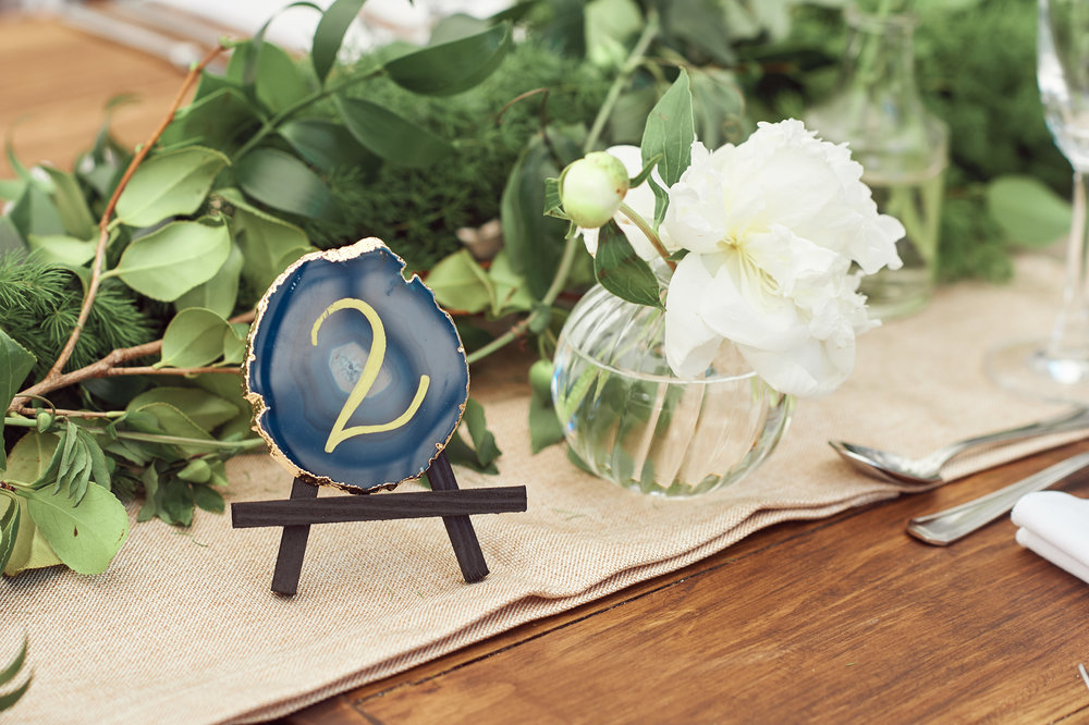 agate table numbers